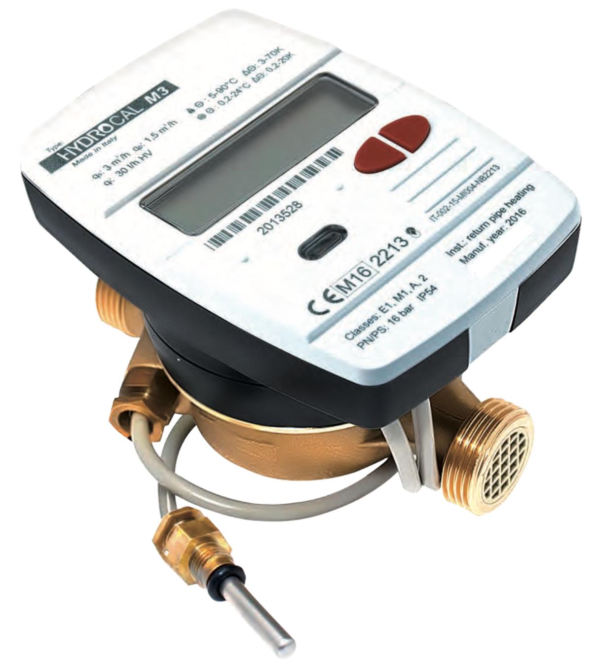 kompaktní měřič tepla smartm